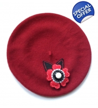 French Style Decorated Berets
